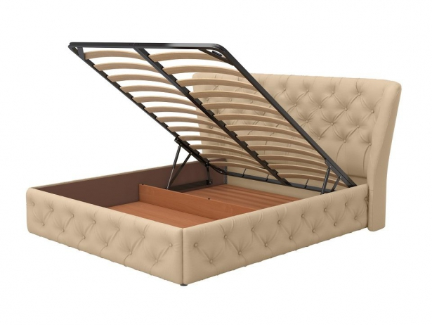Купить кровать с подъемным механизмом Life 5 Box беж
