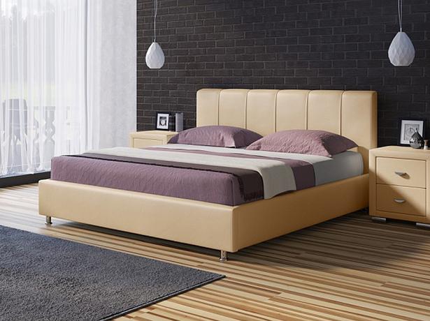 Кровать Nuvola 7 бежевый