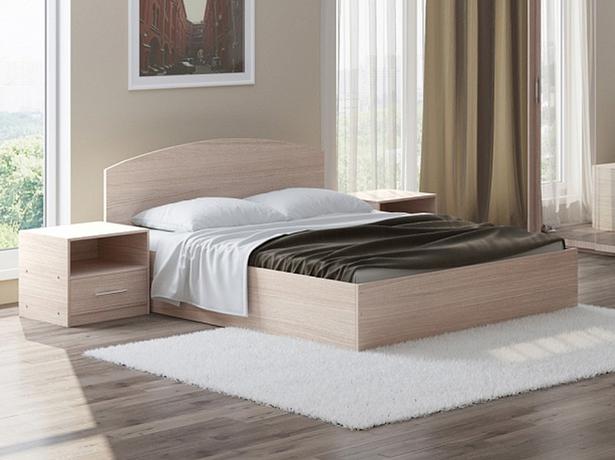Кровать Этюд с подъемным механизмом ясень шимоно светлый