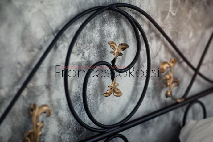 Кровать Francesco Rossi Венеция с двумя спинками