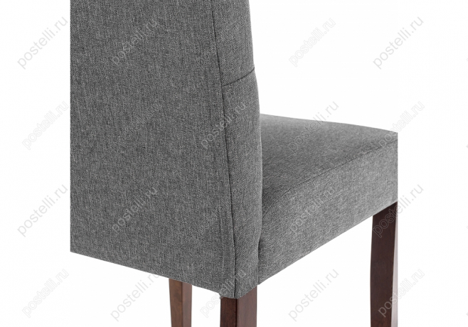 Стул Menson dark walnut/fabric grey (Арт. 11022)