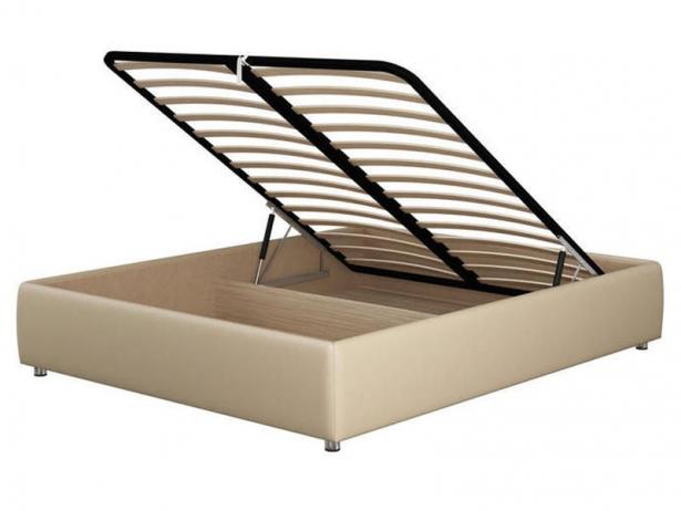 Кровать без изголовья Como 1 Base кремовая