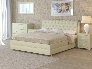 Купить кровать Como 4 кремовый