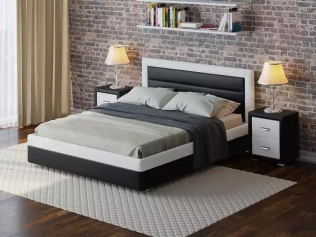 Купить кровать Life 2 Box  с подъемным механизмом черно-белый