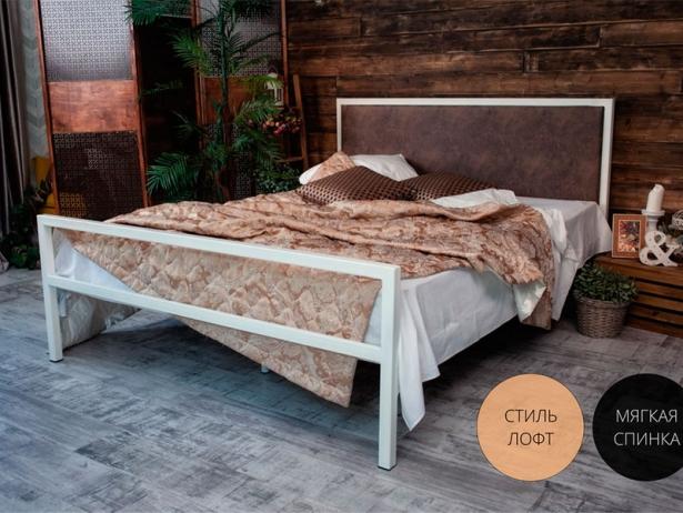 Кровать Francesco Rossi Лоренцо коричневый
