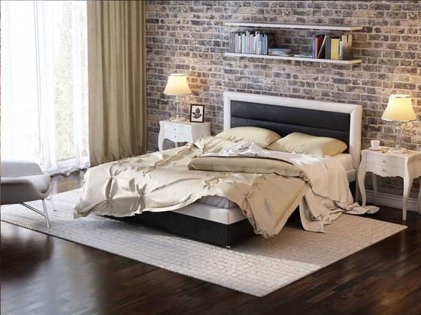 Кровать Life 2 Box  с боковым п/м черно-белый