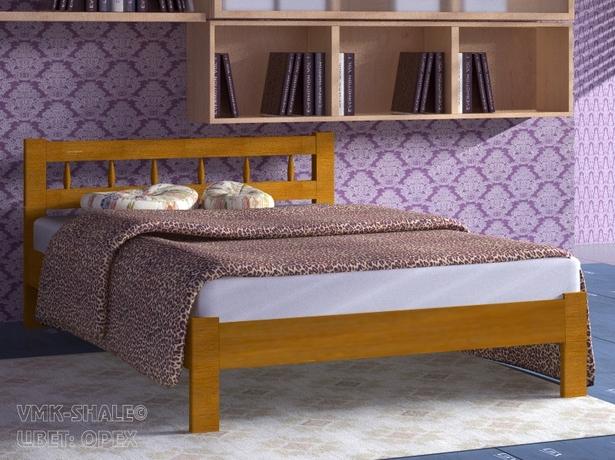 Купить кровать Шале Икея орех