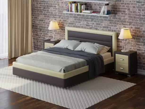 Кровать Life 2 Box  с подъемным механизмом венге-белый