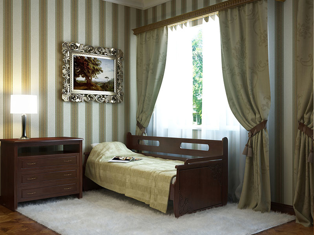 Купить кровать из массива Тахта 2