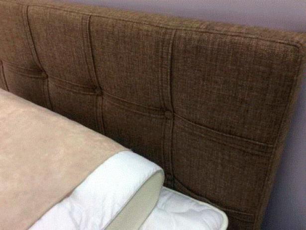 Кровать Life 3 фото в ткани Глазго коричневый