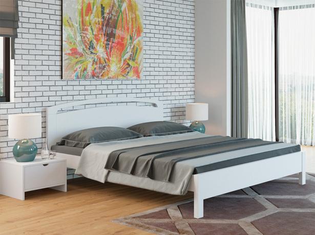 Кровать Веста 1R Тахта сосна белый