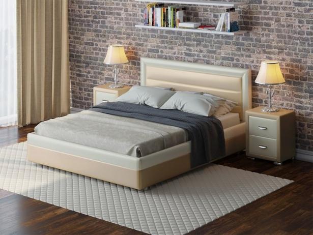Купить кровать Life 2 Box  с подъемным механизмом крем-белый