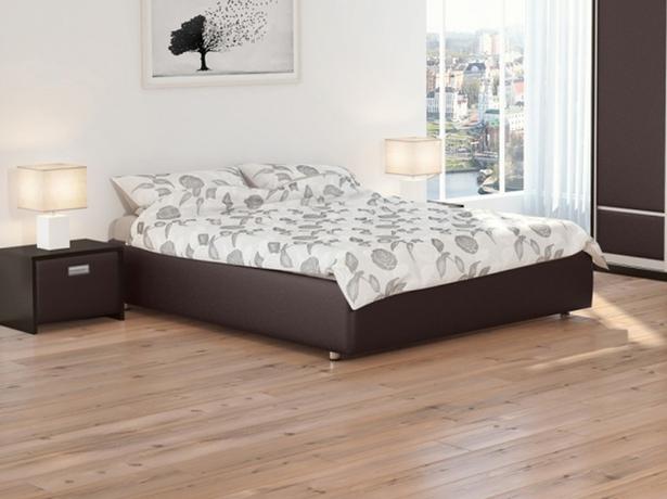 Кровать венге без изголовья Como 1 Base