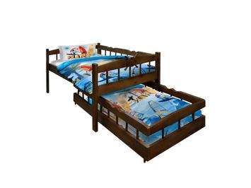 Выдвижная кровать для двоих  Крузенштерн