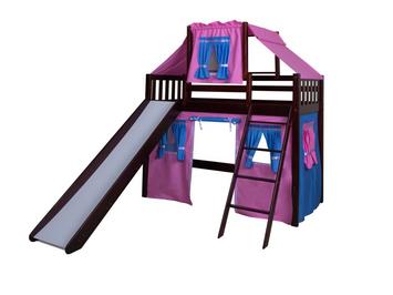 Кровать-чердак детская МХ Аленушка
