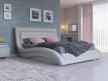 Кровать Атлантико с ПМ ткань
