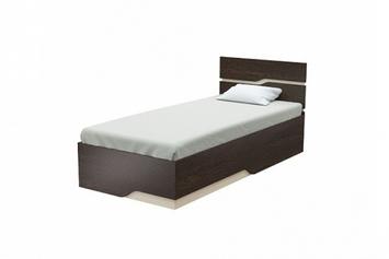 Односпальная кровать Wave Line с пм