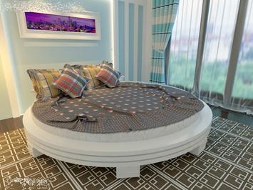 Круглая кровать Арена 1