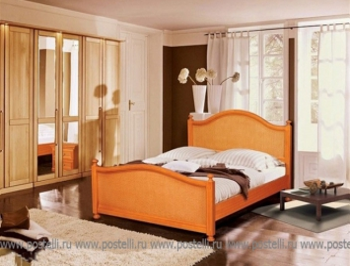 Кровать Вилия ротанг 1.1