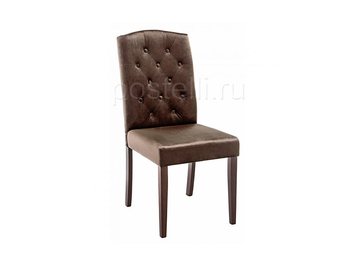 Стул Menson dark walnut/fabric brown (Арт. 11142)