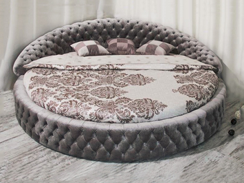 Круглая кровать Letti Soft Wall