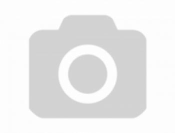 Белая кровать из массива гевеи I-3601